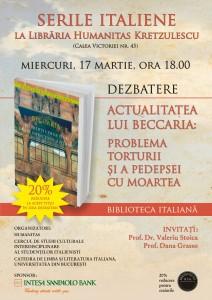 Biblioteca italiana - Actualitatea lui Beccaria