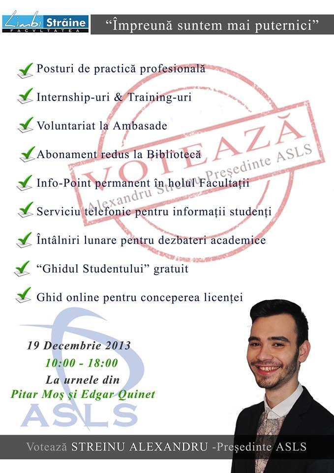 Profil de candidat: Alexandru Streinu