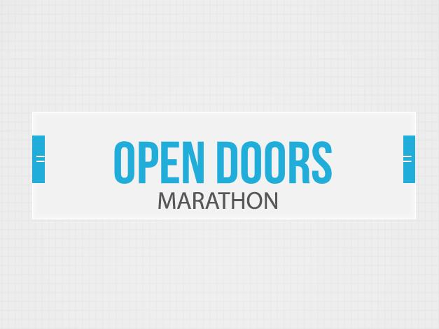 Accenture vous invite à Open Doors Marathon!