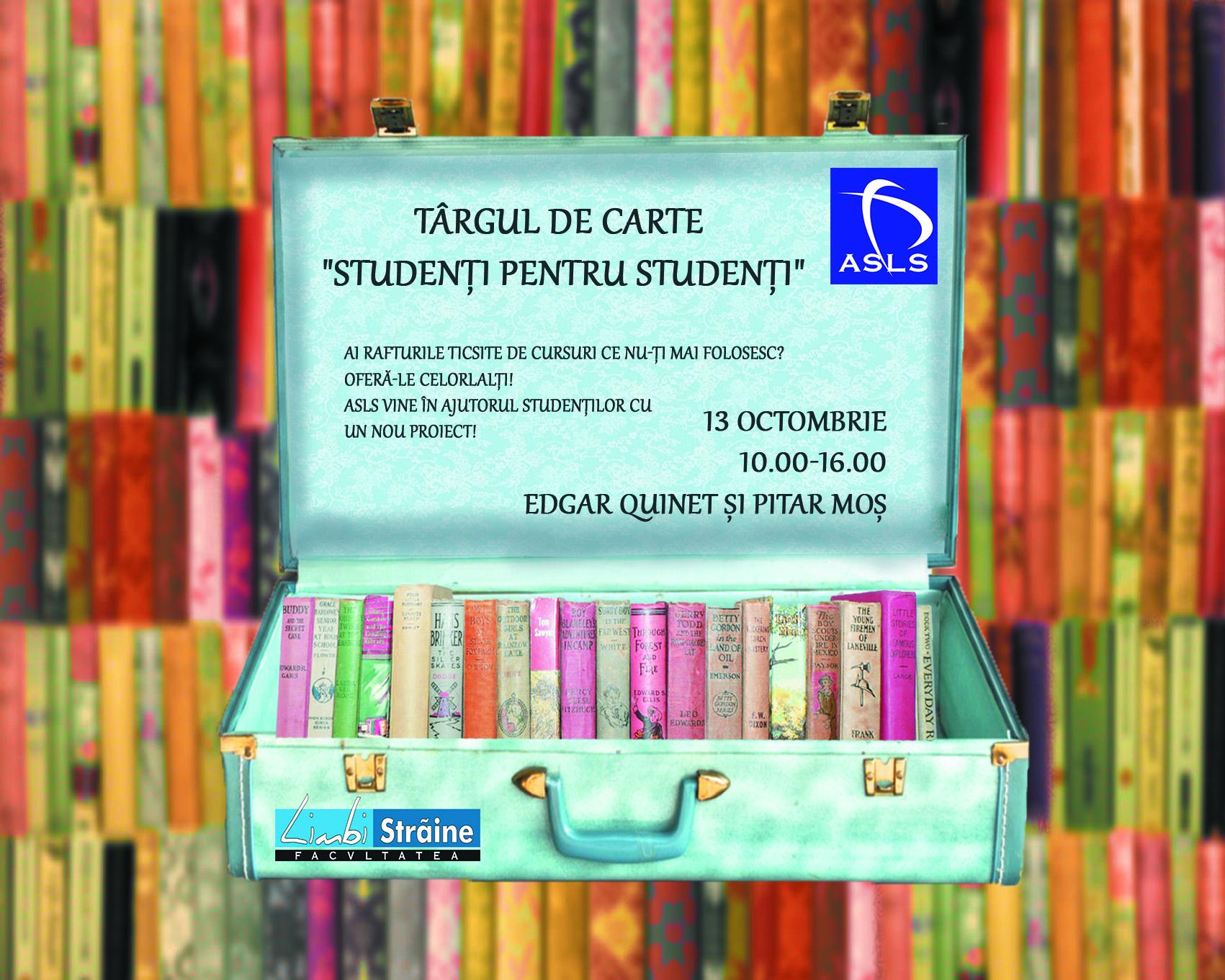 Târgul de carte Studenți pentru Studenți