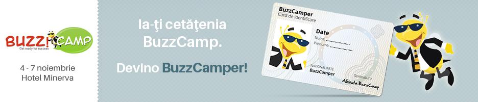 Ia-ți cetățenia BuzzCamp!