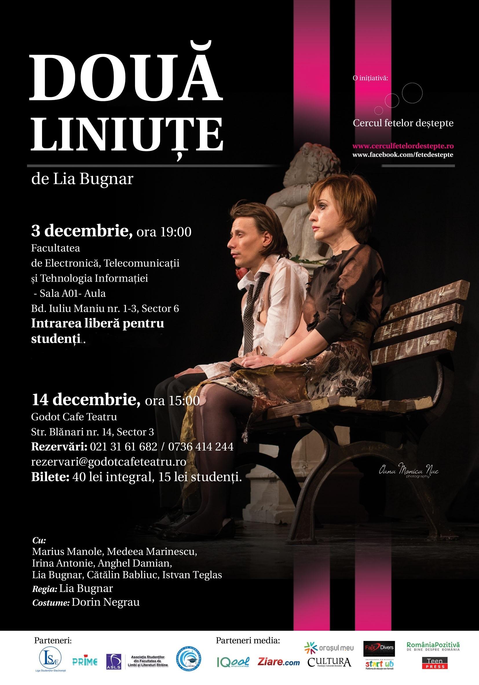 Spectacol de teatru – Doua Liniute