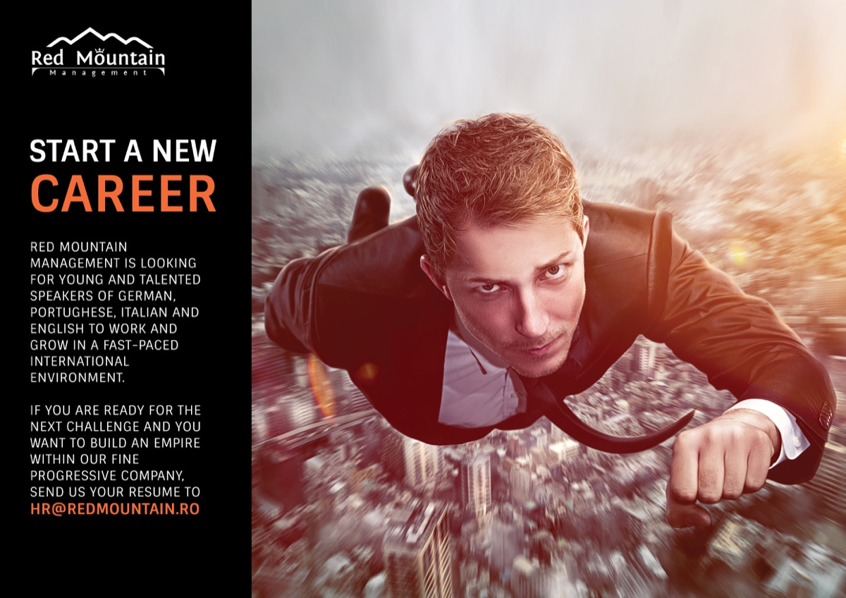 Red Mountain – Start a new career