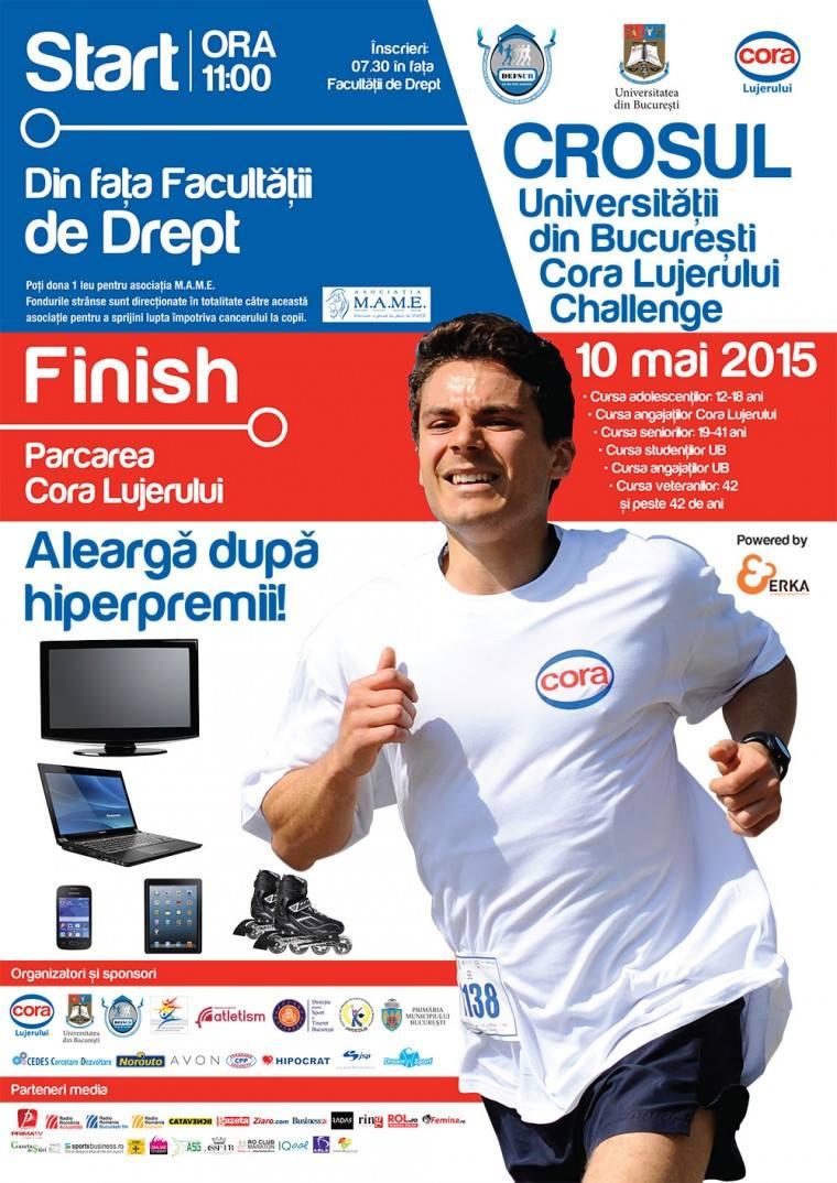 Crosul Universității din București – Cora Lujerului Challenge