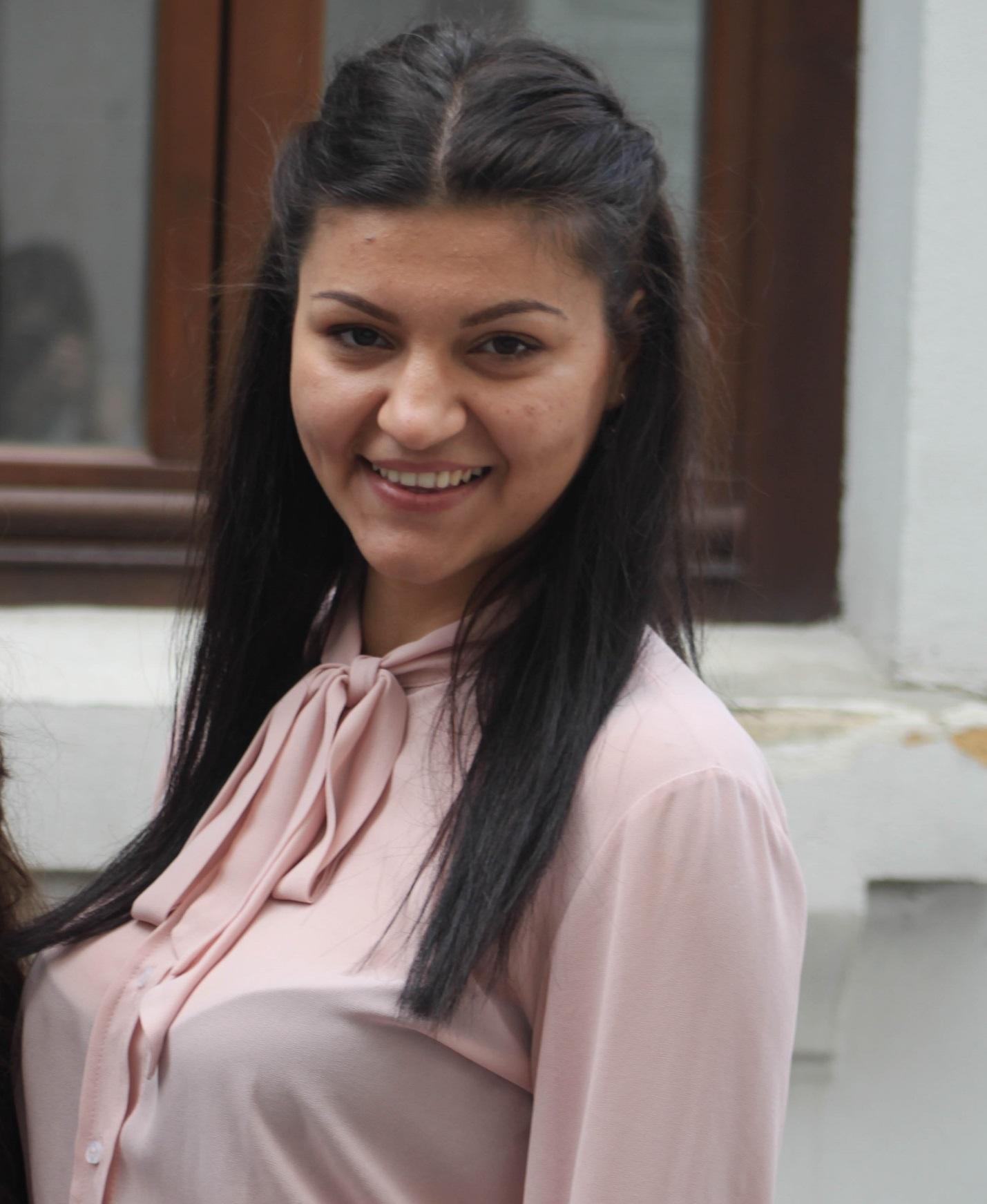Alina Vlăgea – voluntar ASLS