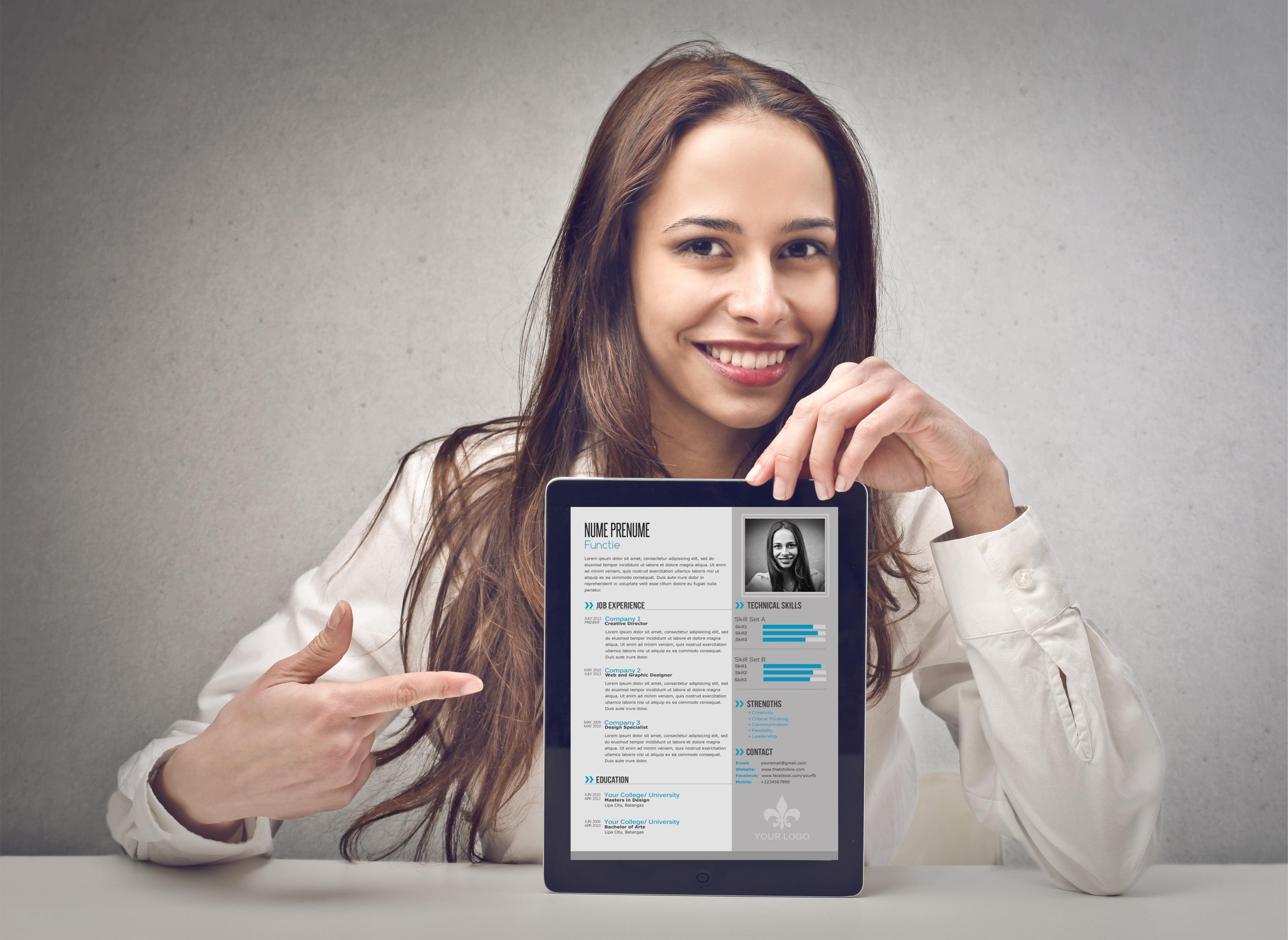 Câștigă o tabletă cu CV-ul tău!