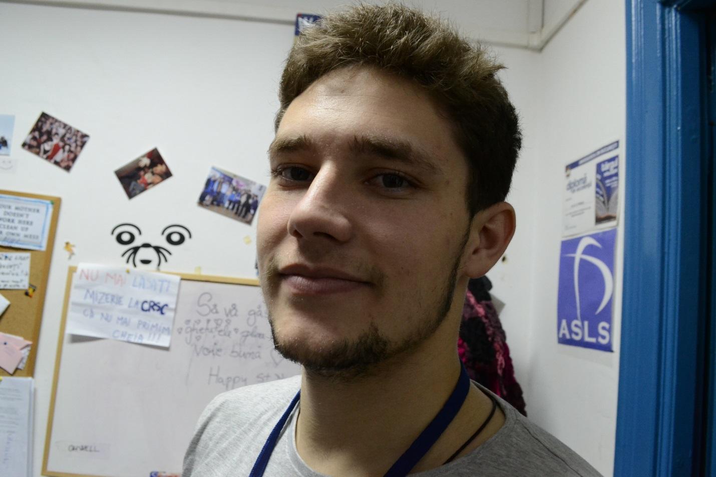 Marian Bănescu – voluntar ASLS