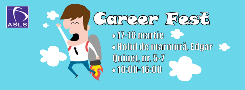 ASLS te invită la Career Fest 2016!