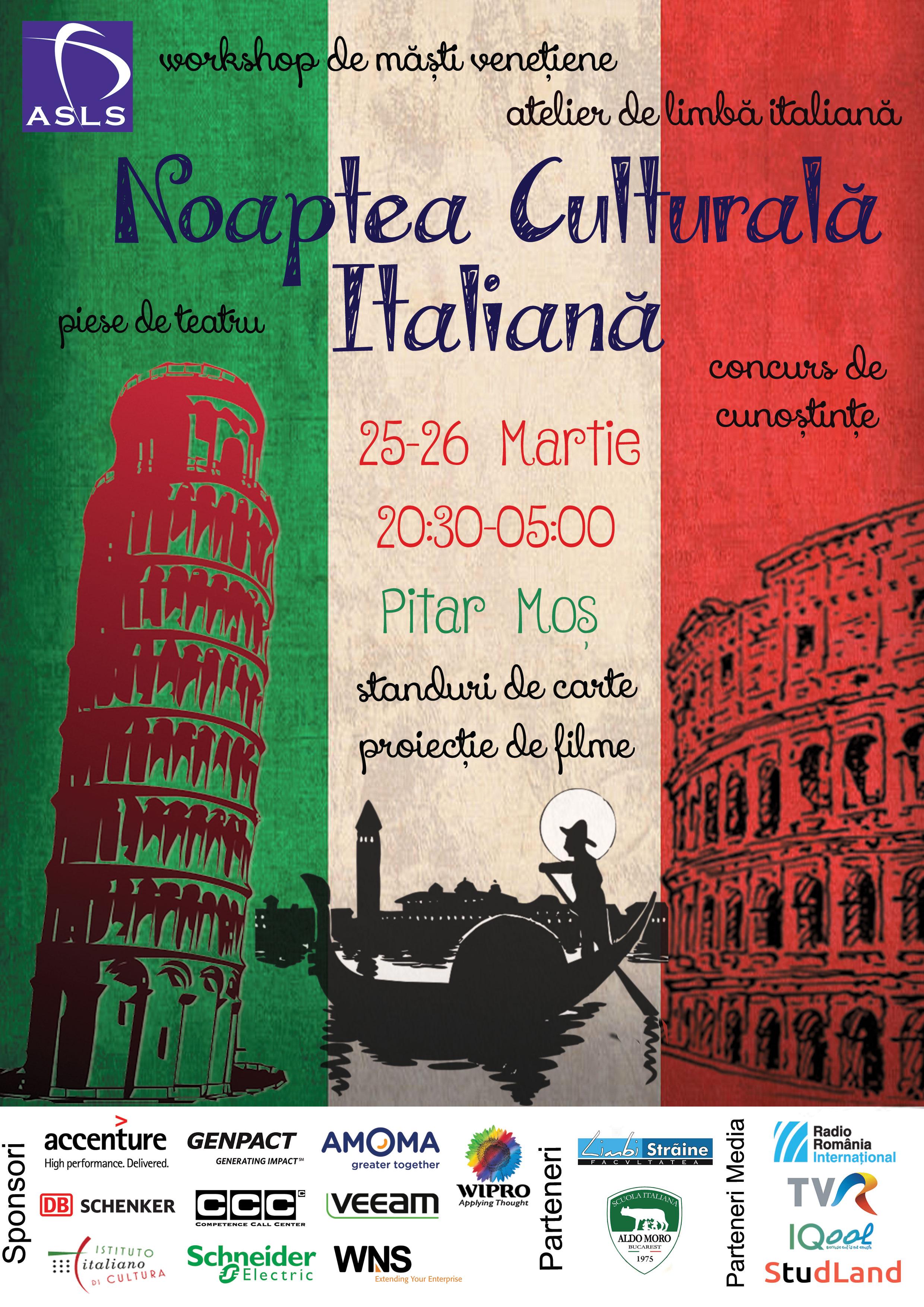 Noaptea Culturală Italiană