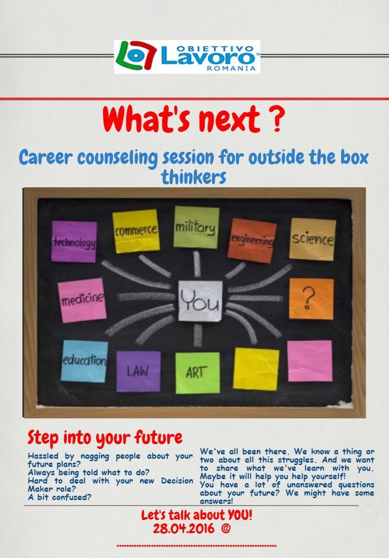 Obiettivo Lavoro – Training de consiliere în carieră