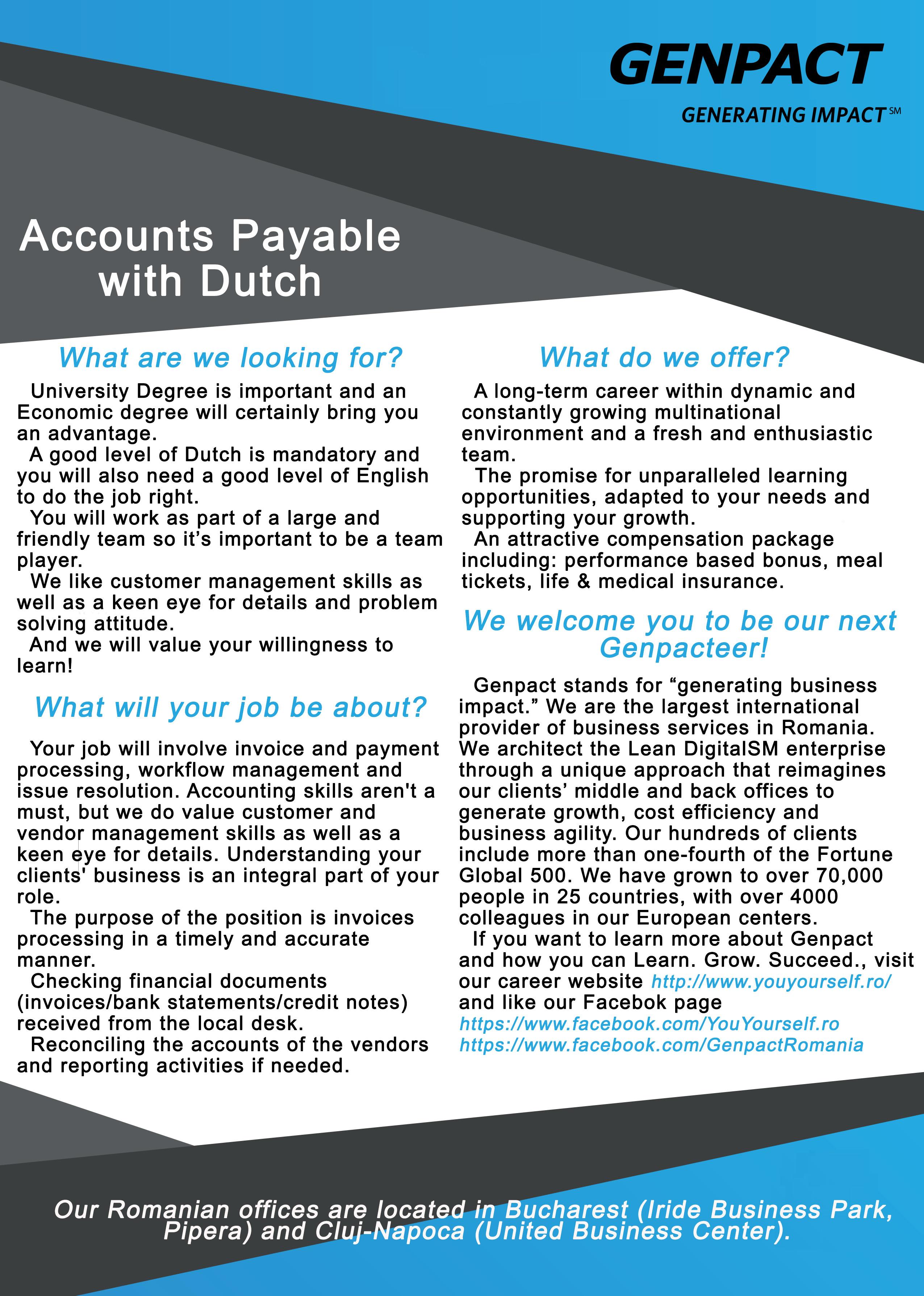 Accounts Payable with Dutch