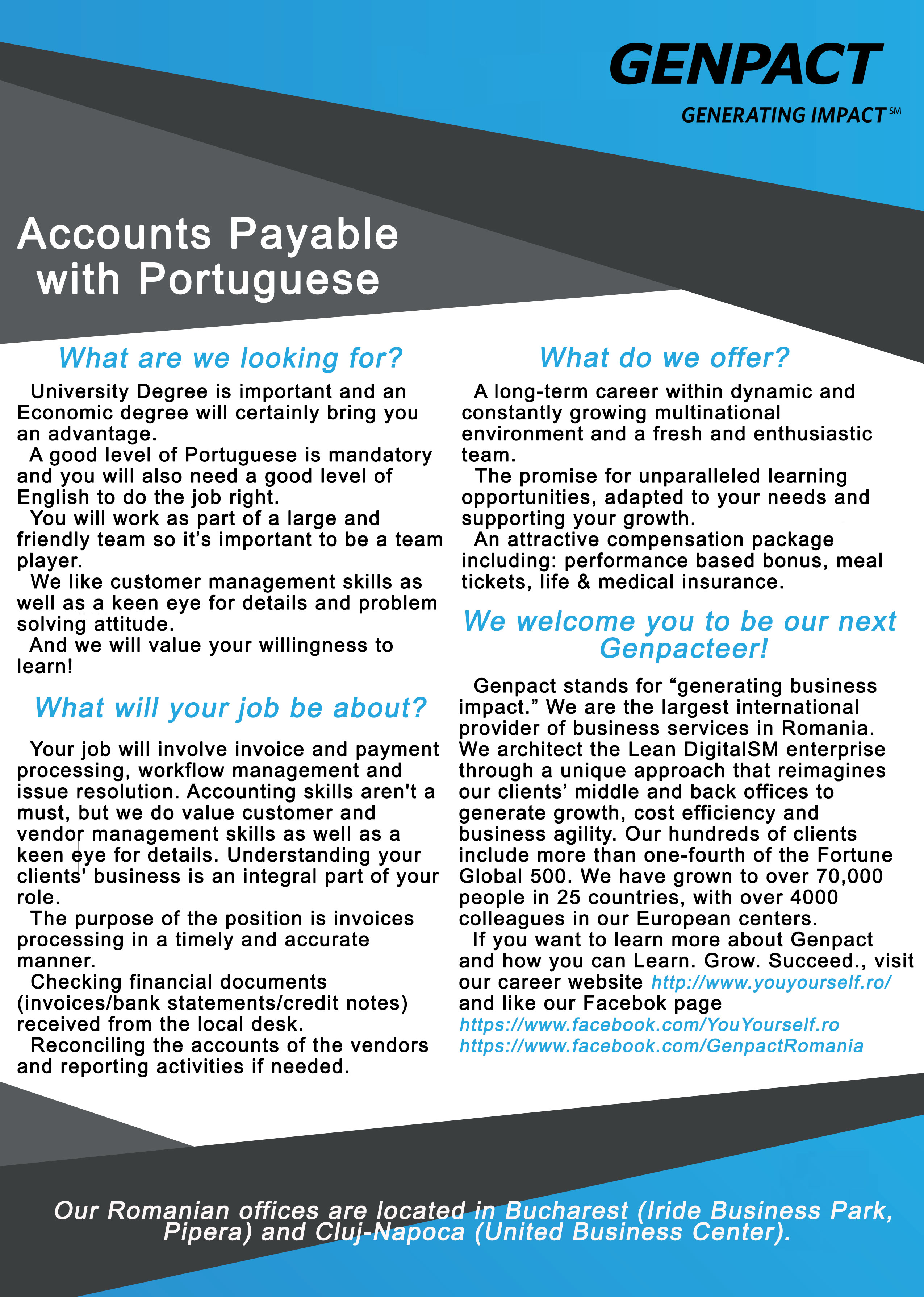 Accounts Payable with Portuguese