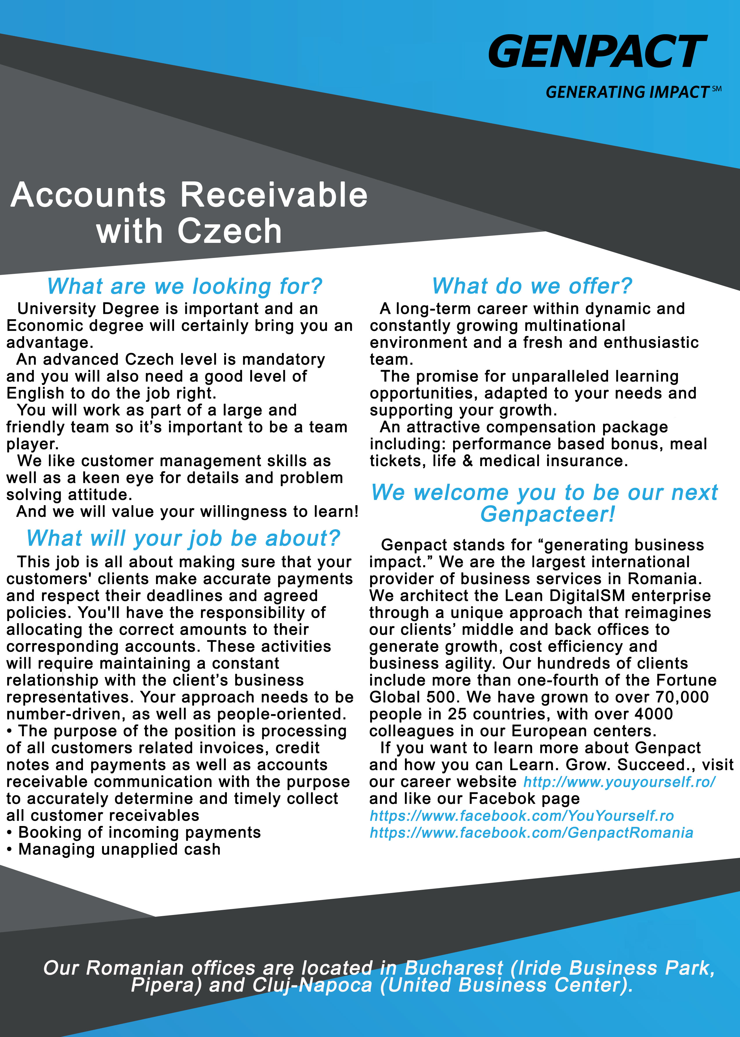 Accounts Receivable with Czech