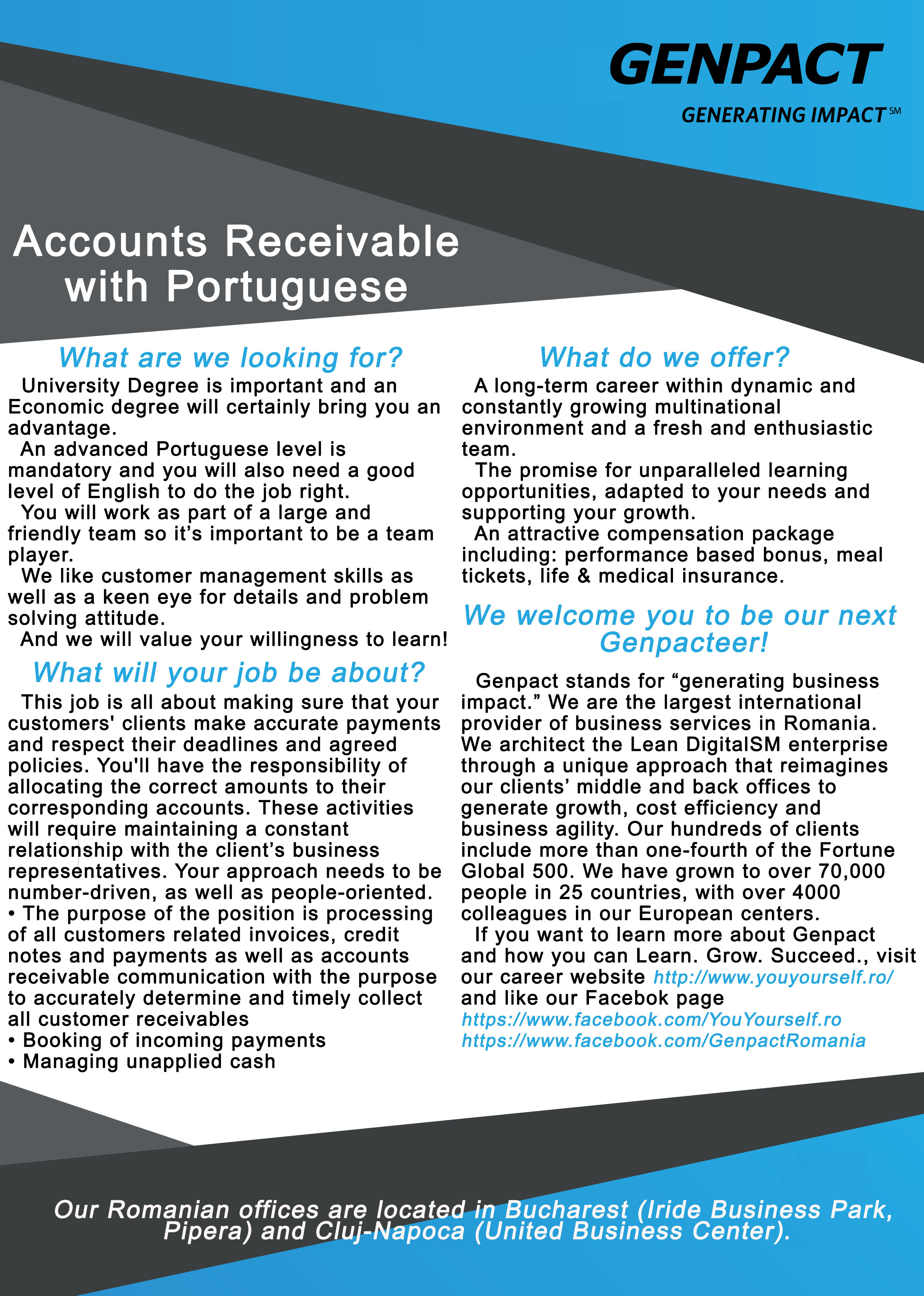 Accounts Receivable with Portuguese
