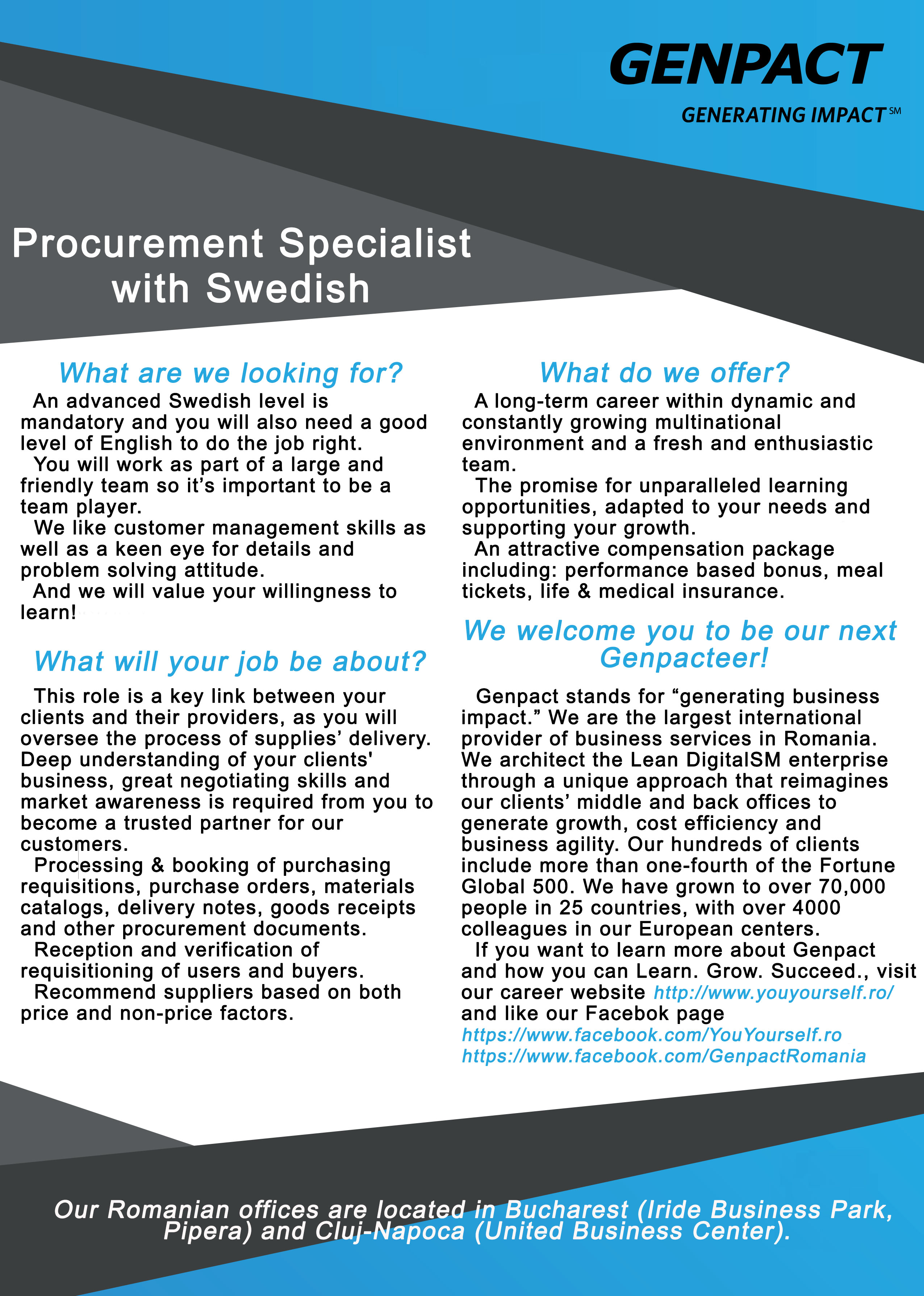Procurement Specialist with Swedish