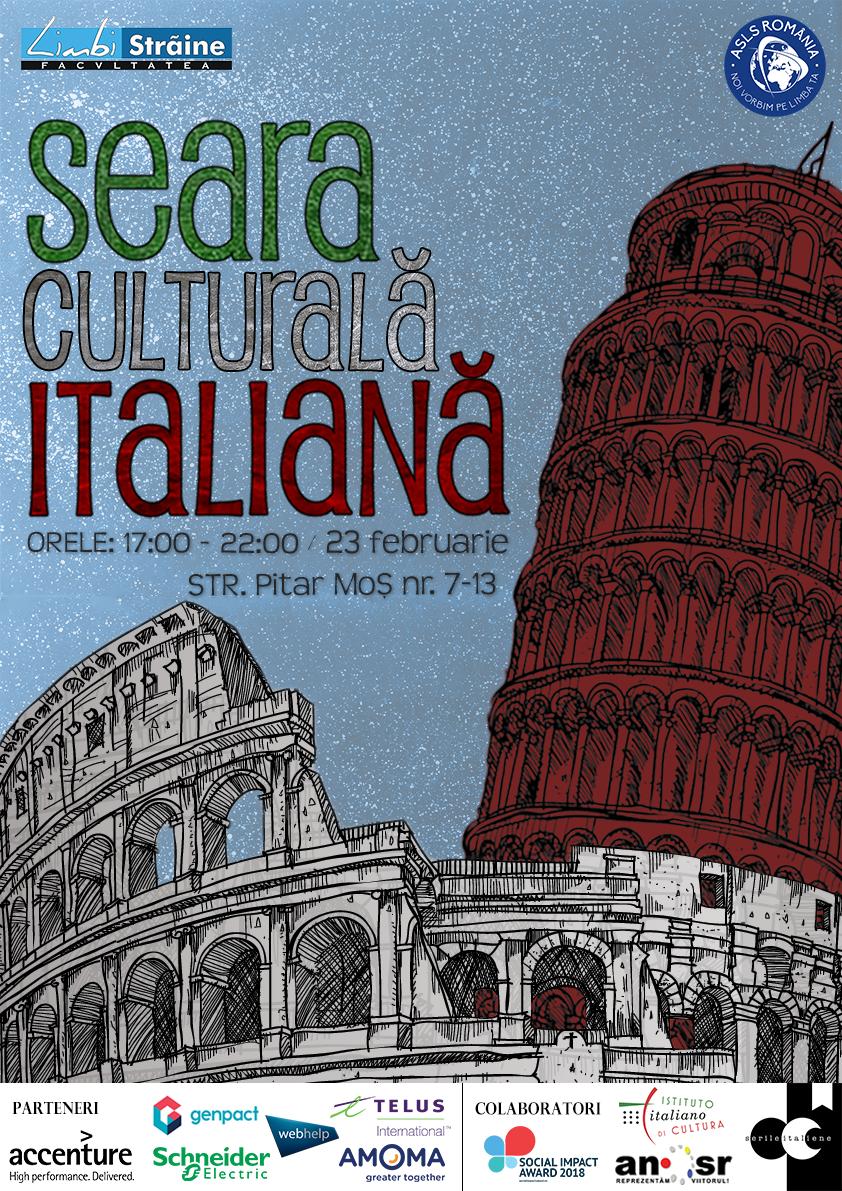 Seara Culturală Italiană 2018