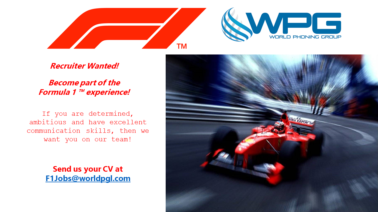 Become part of the  Formula 1™ experience!