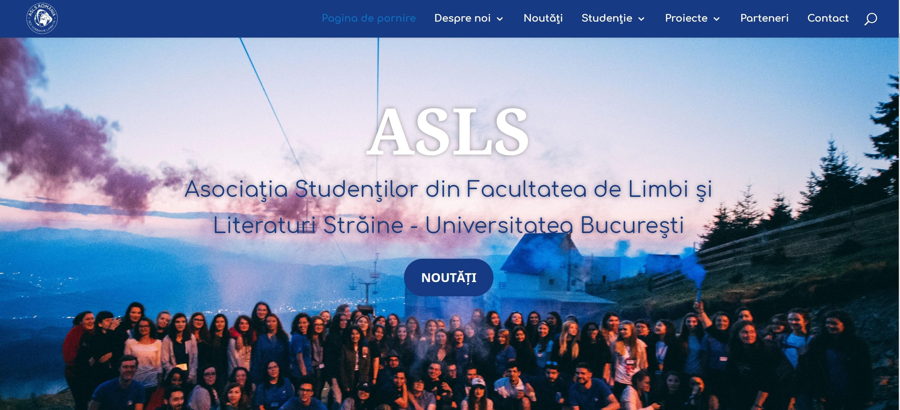 Noul site ASLS