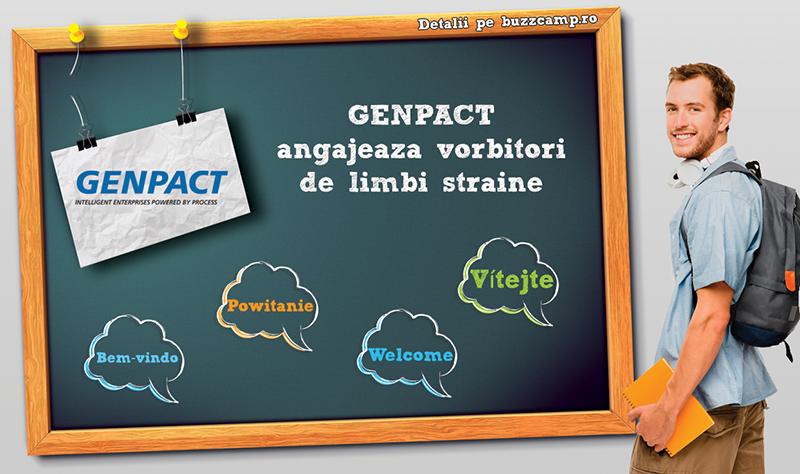 Vino să lucrezi la GENPACT!