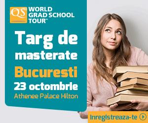 QS World Grad School Tour Bucuresti – 23 octombrie 2014