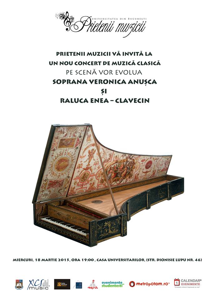 Concert de muzică clasică la Universitatea din București