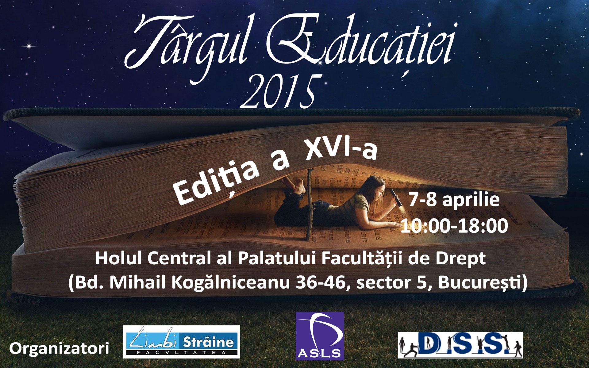 Târgul Educației 2015