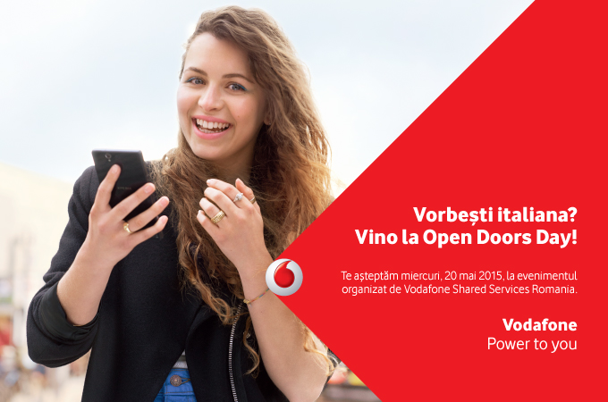 Vorbești italiana? Vino la Open Doors Day!