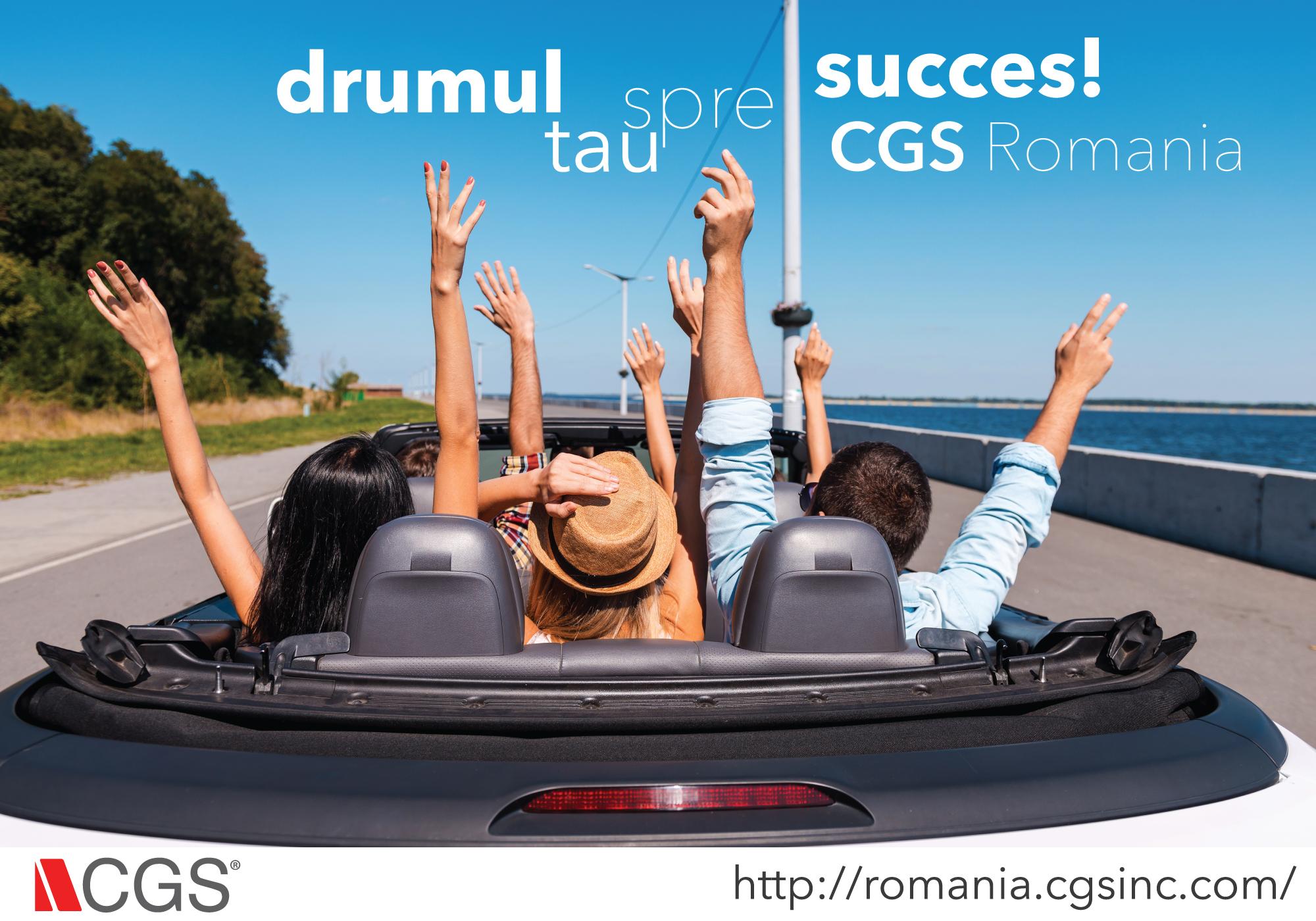 CGS România angajează!