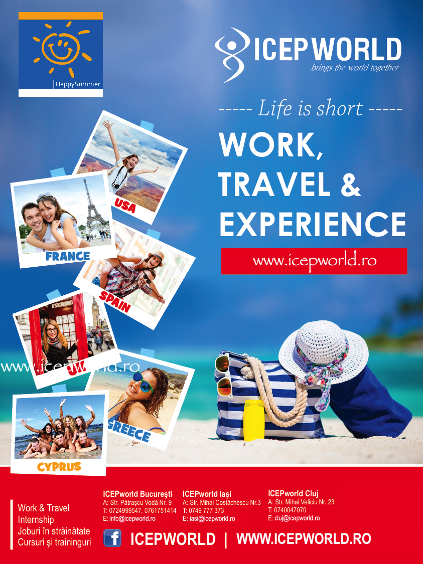 ICEP World – Work, Travel & Experience