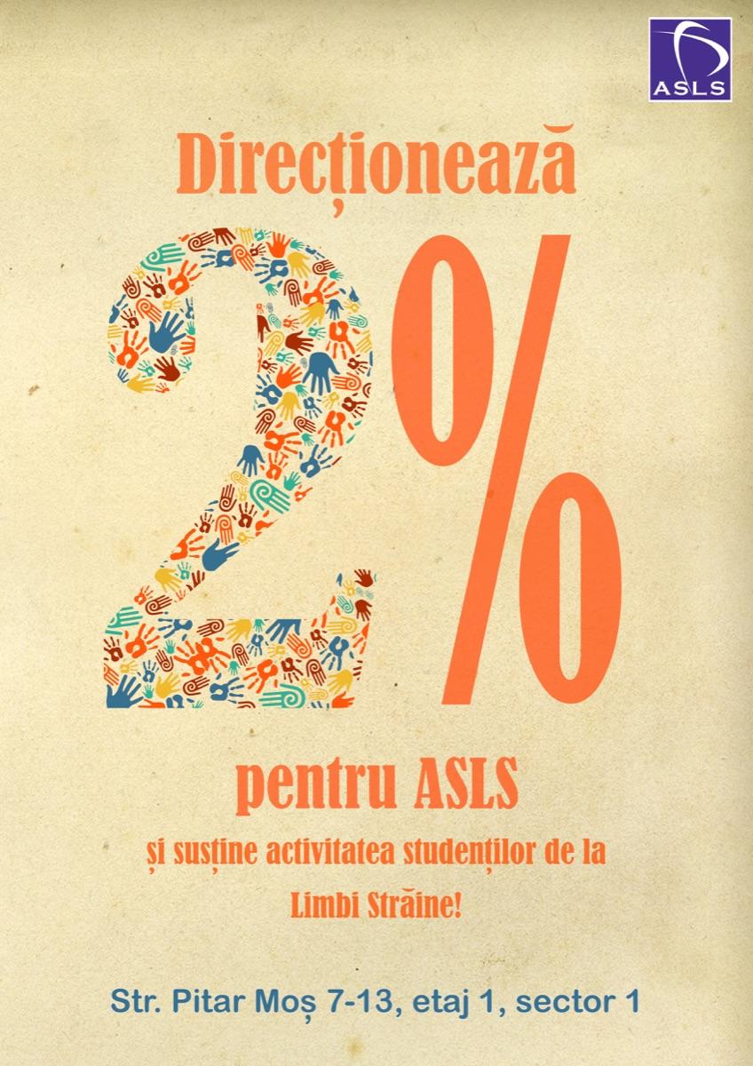2% pentru ASLS