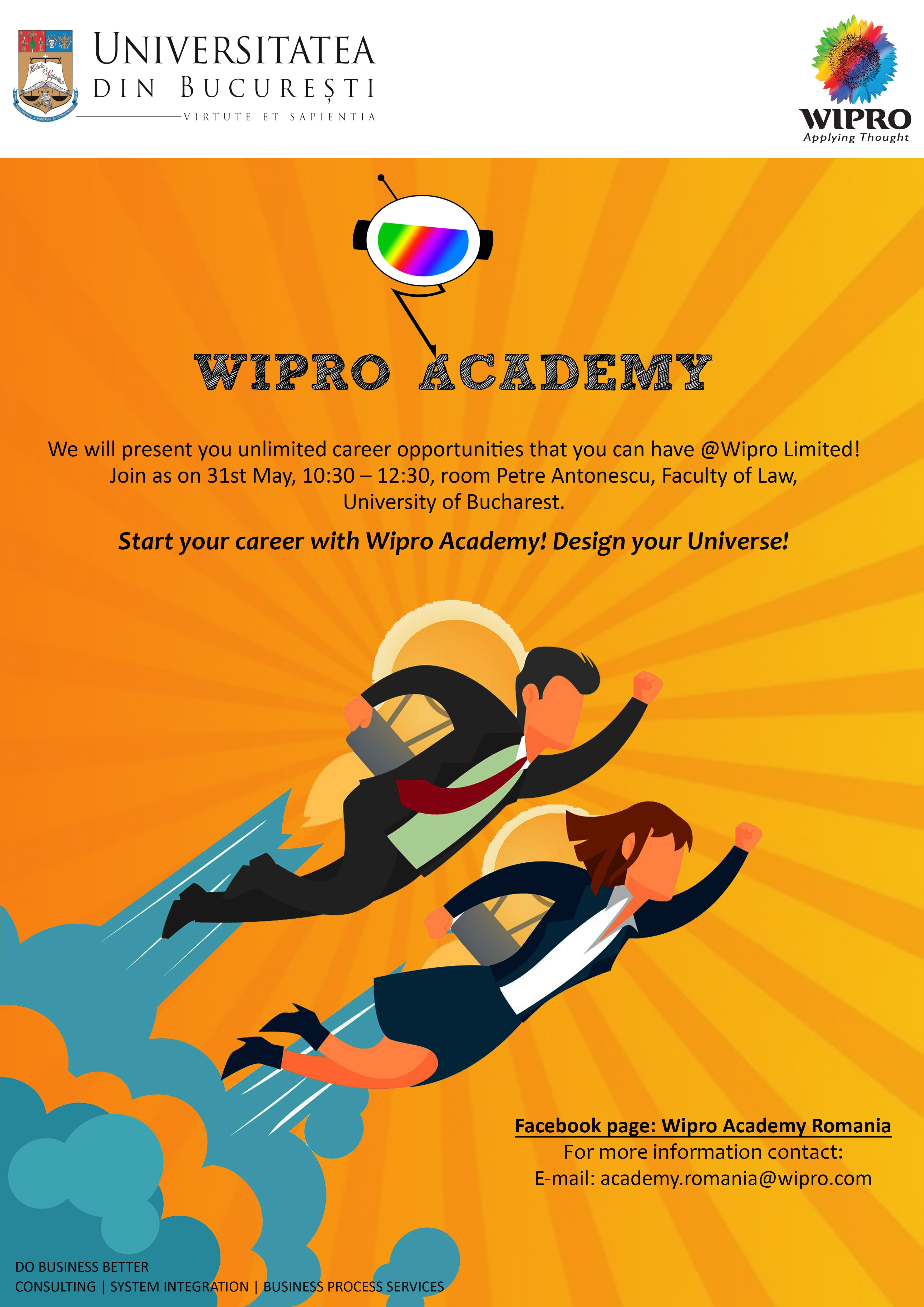 Start your career with Wipro Academy!
