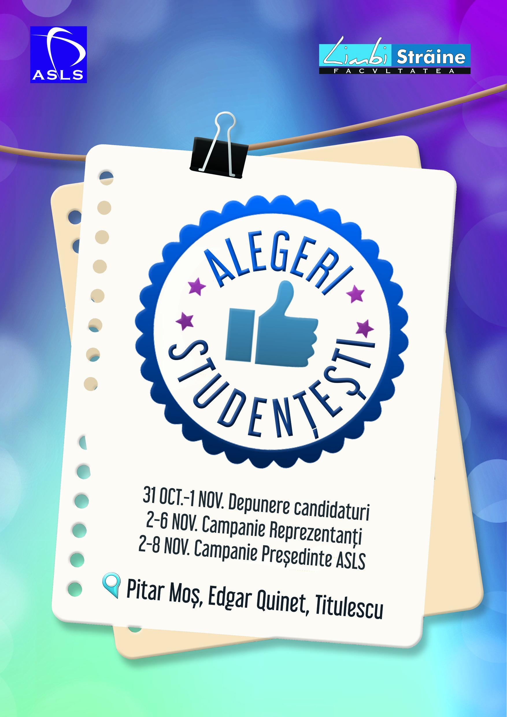 Alegeri sudențeşti 2016 – Actualizat 10.11