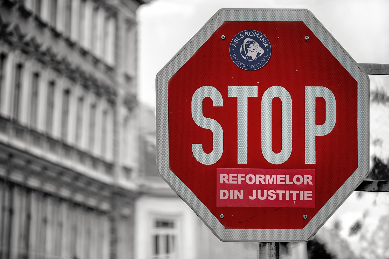 STOP reformelor din justiție!